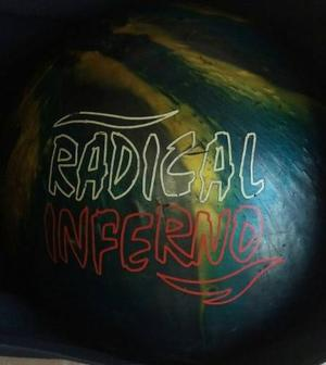 Pelota De Bowling 12lbs Brunswick Radical Inferno Y Bolso.