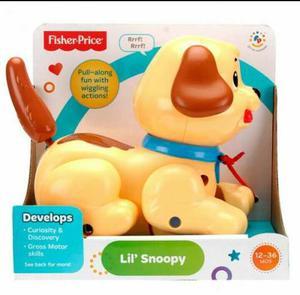Perrito Snoopy Fisher Price, Nuevo