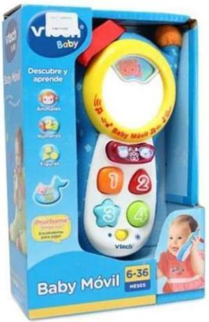 Teléfono, Celular, Baby Móvil Para Bebés De Vtech