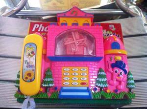 Teléfono De Juguete Para Niños Y Niñas - Juguete Para