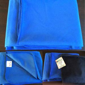 Toallas De Microfibra Azul Rey 1,40 X 0,70 Para Estampar