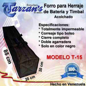 Bolso Para Parales Herrajes De Bateria Percusion 85x20x20