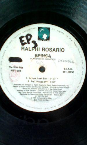 Disco Vinyl Remix Importado De Ralphi Rosario Brinca