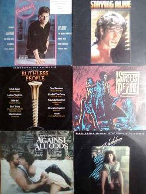 Discos Lp Acetato Vinil Soundtracks Peliculas