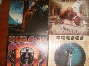 Kansas. Discos De Vinyl