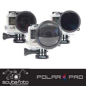 Kit De Filtros Para Aventura Gopro H3+ Y 4 Polar Pro- P