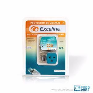 Protector De Voltaje 220v Aire Acon. Y Refrig Exceline