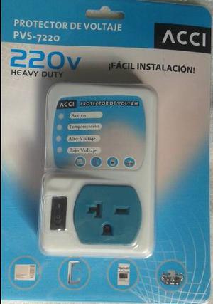 Protector De Voltaje 220v Pvs-