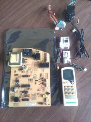 Tarjeta Fuente Aire Split Hyundai + Sensores+control+resepto