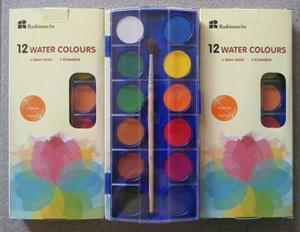 Acuarelas De 12 Colores Marca Rubinstein En Oferta