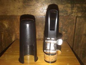 Boquilla De Clarinete Con Abrazadera Y Tapa