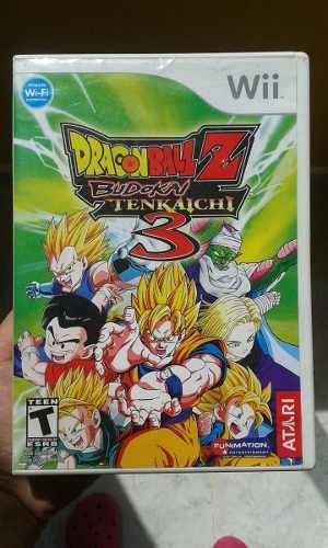 Dragon Ball Z Budokai Tencaichi 3 Para Wii