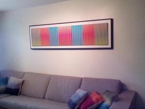Fabulosas Obras De Arte Cinetico 140x45cms