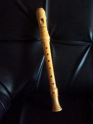Flauta Dulce De Madera Marca Alabama (en Do)