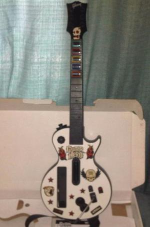 Guitarra Para Nintendo Wii De Guitar Hero 3 Original
