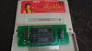 Juego D Super Nintendo. Aladin. Acpto Cambios X Otros Juegos