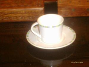 Juego De Taza Y Plato De Porcelana Tunisia Italy Buen Dise