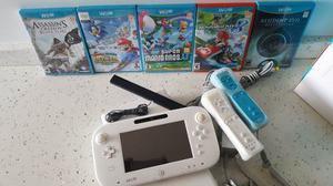 Nintendo Wii U Con 5 Juegos Originales