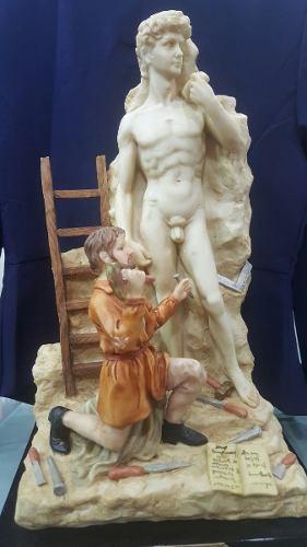 Porcelana Inmensa Monti Piero Alabastro Miguel Angel