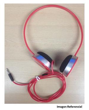 Audifonos Monster Beats By Dr-dre Color Rojo Tipo Cintillo