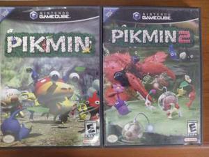 Combo Pikmin 1 Y Pikmin 2 Juegos De Nintendo Gamecube