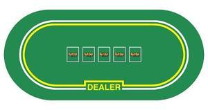 Cubierta De Poker, Para Sustituir Una Mesa De Poker En Casa