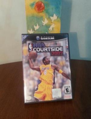 Juego De Gamecube: Nba Courtside Original, Perfecto Estado