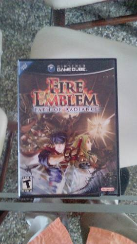 Juego De Nintendo Gamecube Fire Emblem Path Of Radiance Neg