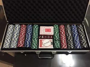 Maletin De Poker 500 Fichas