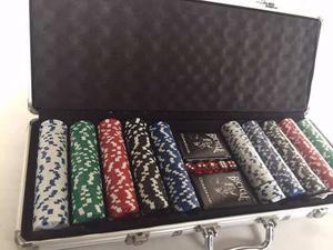 Maletín De Póker 500 Fichas