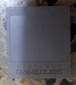 Memory Card Para Game Cube Original