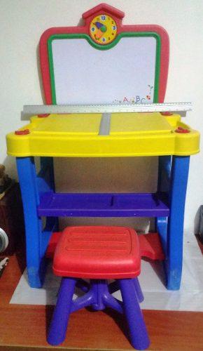 Mesa De Trabajo Y Entretenimiento Para Niño