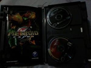 Metroid Prime Con Metroid Echoes Gamecube