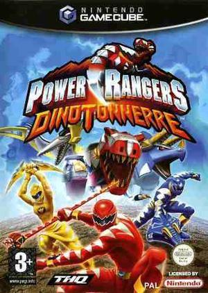 Power Rangers Dinothunder Gamecube, Wii! Oferta