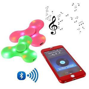 Spinner Music Corneta Luce Mas Conexion Bluetooth Recargable