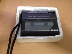 Subasta...grabadora De Casette Sanyo