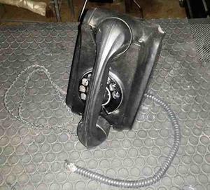 Telefono Antiguo De Baquelita Funcional