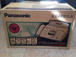Telefono Fax Panasonic Kx-fp81la