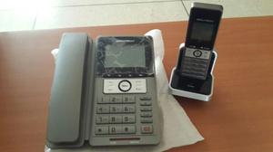 Teléfono Fijo + Auxiliares Inalambricos Secutech