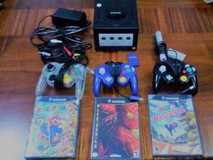 Venta Nintendo Game Cube / 3 Controles / 3 Juegos / Memory 8