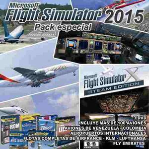 Flight Simulator mas De100 Aviones +2pmdg Gratis