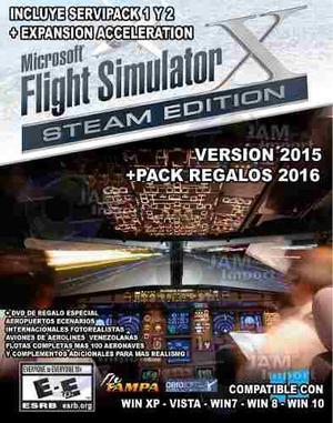 Flight-simulator  Venezuela + Aviones Pmdg Regalo