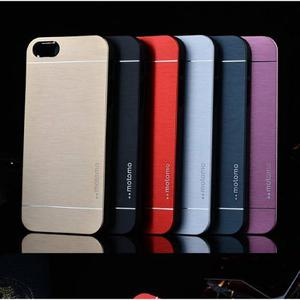 Forro Estuche Iphone 6 6s De Lujo Aluminio Motomo