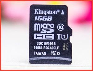 Memoria Micro Sd Marca Kinstong Original De 16 Gb Clase 10