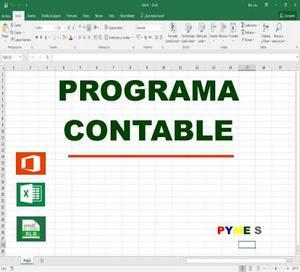 Programa Excel Contabilidad