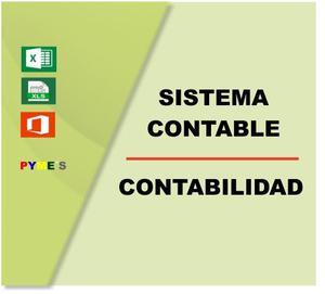 Sistema Excel Contabilidad