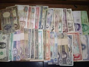 vendo colección de billetes antiguos nacionales e