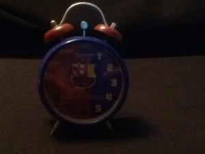 Reloj Despertador Del Fc Barcelona
