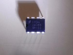 Amplificador De Circuito Lm Lm386n-1 Lm386n Original