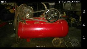 Compresor aire 2 hp capacidad 50 litros fermetal posot class - Compresor de aire 25 litros ...